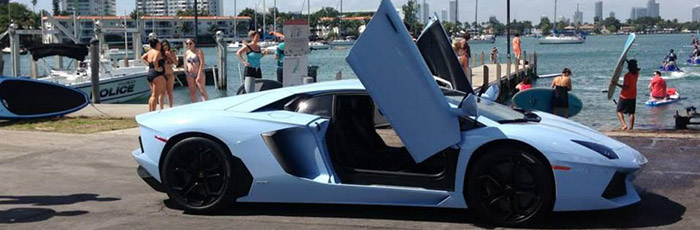 location lamborghini aventador miami. Black Bedroom Furniture Sets. Home Design Ideas